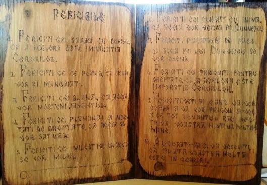 Fericirile -scriere veche romaneasca pe lemn.jpg